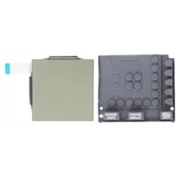Concept 2 Rower PM3/PM4 Monitor Replacement LCD Display Screen & Rubber Keypad (buttons)