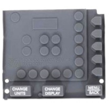 Concept 2 Rower PM3/PM4 Monitor Replacement Rubber Keypad (buttons)