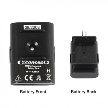 Concept 2 PM4 monitor rechargeable battery pack (model D & E rowing machines)