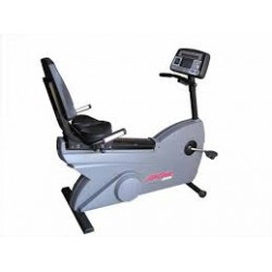 Life Fitness 9500HR Dovetail Commercial Recumbent Exercise Bike
