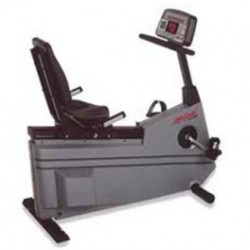 Life Fitness 9500HR Commercial Recumbent Exercise Bike