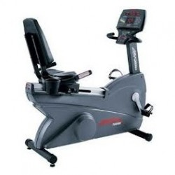 Life Fitness 9500HR Next Generation Commercial Recumbent Exercise Bike