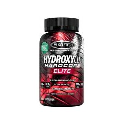 MuscleTech Hydroxycut Hardcore Elite - 20 capsules (Diet, Fat Burner, Energy, Focus, Weight Loss)