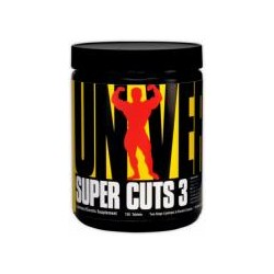 Universal Nutrition Super Cuts 3 - 130 tablets (Diet, Fat Burners, Weight Loss, Energy)