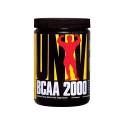 Universal Nutrition BCAA 2000 - 120 capsules (Amino Acids & BCAAs)