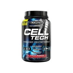 MuscleTech Cell-Tech Creatine Hardgainer Performance Series, Watermelon - 1400g (Increase Muscle Size & Strength)
