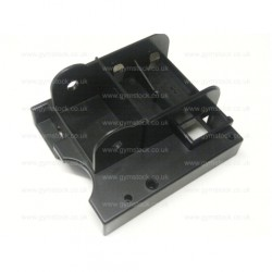 Concept 2 rowing machine PM4 monitor replacement back case (rear plastic casing / bracket) battery compartment