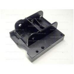 Concept 2 rowing machine PM3 monitor replacement back plastic case / bracket (for PM3 monitors serial no. starting with 3 or 4)