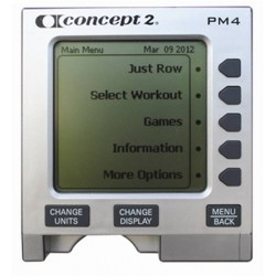 Concept 2 Rowing Machine Replacement PM4 Monitor (Used / Reconditioned)