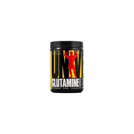 Universal Nutrition Glutamine - 100 capsules (L-Glutamine, Amino Acids & BCAAs)