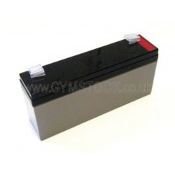 Precor Bikes C846, C846i Replacement Yuasa 6v 2.8ah Battery Upright/Recumbent Exercise Cycles (rechargeable)