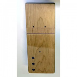 Concept 2 model B rowing machine LEFT wooden foot board (foot plate / foot rest)
