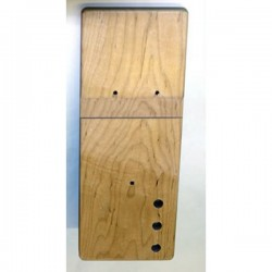 Concept 2 model B rowing machine RIGHT wooden foot board (foot plate / foot rest)