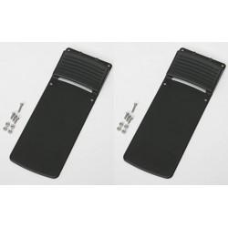 Concept 2 rowing machine grey flexfoot toepiece (includes screws) pair