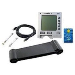 Concept 2 Model C Rowing Machine PM4 Retrofit Kit (includes NEW monitor, monitor arm with hardware, logcard, & usb cable)
