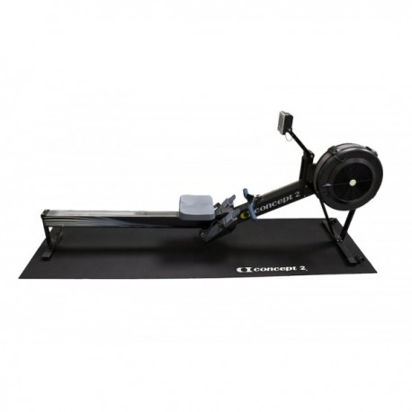 Concept 2 Rowing Machine Floor Mat (LATEST VERSION IN BLACK) model A, B, C, D, and E rowers