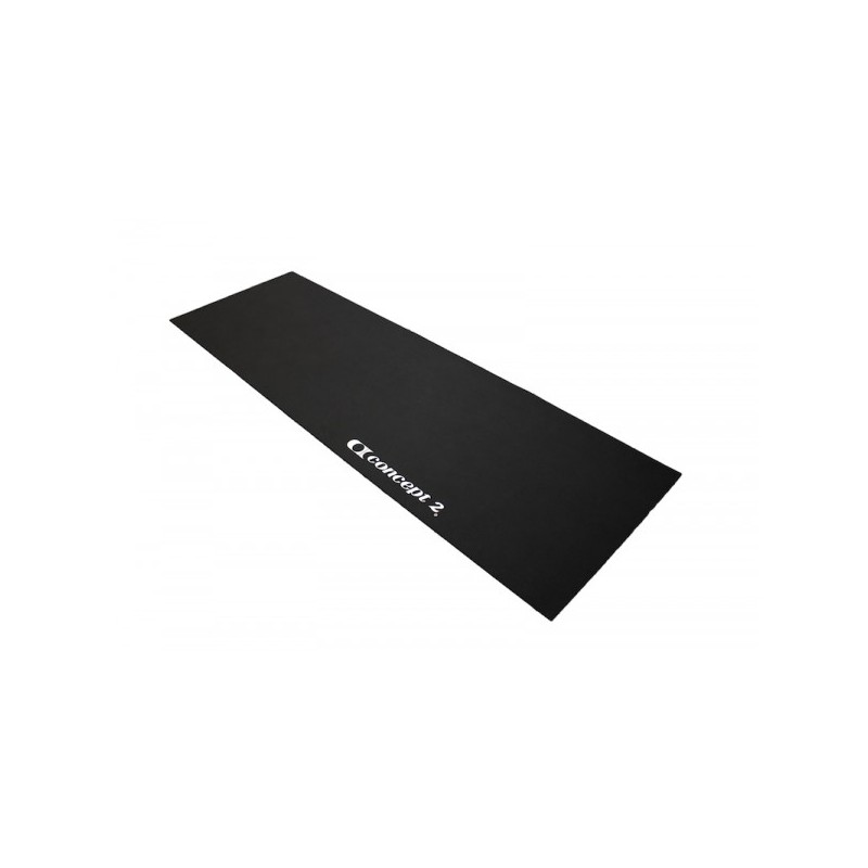 concept 2 rowing machine floor mat black model a b c. Black Bedroom Furniture Sets. Home Design Ideas