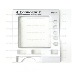 Concept 2 rowing machine PM4 monitor replacement front fascia / case (plastic casing)
