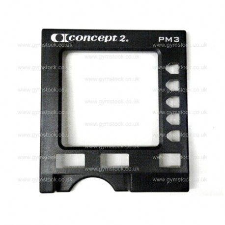 Concept 2 rowing machine PM3 monitor replacement front fascia / case (plastic casing)